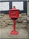 SO3958 : Postbox, Pembridge, Herefordshire by Christine Matthews