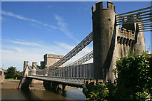 SH7877 : Conwy Suspension Bridge by Graham Hogg