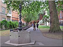 TQ2880 : Walk in Mount Street Gardens. Mayfair by Free Man