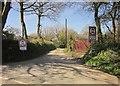SX4667 : Trendle Lane by Derek Harper