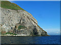 NX0199 : Ailsa Craig Gannetry by Mary and Angus Hogg