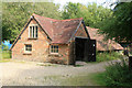 TQ0312 : Amberley Museum - brick drying shed by Chris Allen