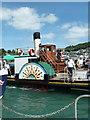 SX8751 : Dartmouth, Kingswear Castle coming alongside by Chris Allen