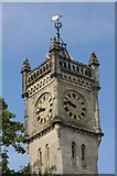 SU1429 : Clock tower, Bridge Street, Salisbury by Philip Halling