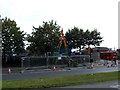 TQ3577 : Borehole on Surrey Canal Road by Stephen Craven