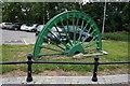 SE4115 : Pit Head Winding Wheel, Fitzwilliam by Ian S