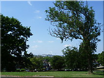 TQ2284 : View from the top of Roundwood Park by Marathon