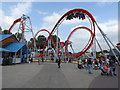 SK1901 : G-force roller coaster (1) by Richard Hoare