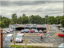 SD7807 : Recently Completed Metrolink Park and Ride at Radcliffe Station by David Dixon
