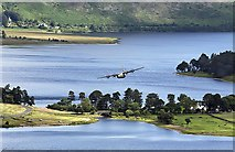 NT2320 : St Mary's Loch and Loch of the Lowes by Walter Baxter