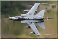 NT2422 : A low flying Tornado GR4 over St Mary's Loch by Walter Baxter