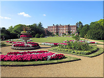 SU8695 : Hughenden Manor southern facade from the garden by Stuart Logan