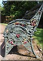 SE3103 : Bench at Wentworth Castle Gardens by Dave Pickersgill