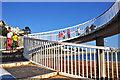 SX9163 : Torquay : Footbridge by Lewis Clarke