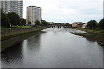 NS3421 : River Ayr at Ayr by Billy McCrorie
