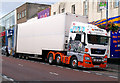 J5081 : Articulated lorry, Bangor by Rossographer