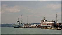 SZ6299 : Portsmouth Harbour by Peter Trimming