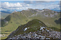 NN1667 : View from the East Ridge of Sgùrr a' Mhàim by Doug Lee