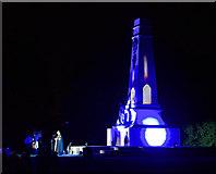 J5081 : WW1 Candlelit Vigil, Bangor by Rossographer