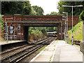 TQ3866 : Bridge over West Wickham railway station by Stephen Craven