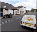 ST3189 : Jeep and Reliant Robin van in Crindau, Newport by Jaggery
