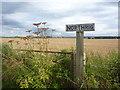 NT5573 : East Lothian Farm Signs : Northrig, Near Haddington by Richard West