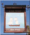 TA0979 : Sign for the Ship Inn, Muston by JThomas