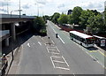 ST3089 : Bettws Circular bus in Crindau, Newport by Jaggery