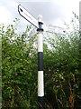 NT5373 : East Lothian County Council Fingerpost: : Coldale Road , Near Quarrypits, Haddington by Richard West