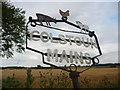 NT5271 : East Lothian Farm Signs : Colstoun Mains, Near Haddington by Richard West