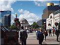 SP0686 : Eastern end of Centenary Square, Birmingham by Robin Stott