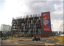 TQ1985 : New car park by Wembley Stadium by David Howard