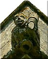 ST9993 : Gargoyle, south-west corner, Church of All Saints, Oaksey, Wiltshire by Brian Robert Marshall