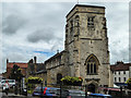 SE7871 : St Michael's Church, Market Place, Malton, Yorkshire by Christine Matthews