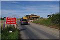 SD4864 : Temporary traffic lights, Kellet Lane by Ian Taylor