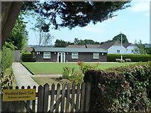 TQ8115 : Westfield Bowls Club by Robin Webster