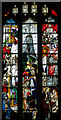 SP1501 : Stained glass window, s.II, St Mary's church, Fairford by Julian P Guffogg