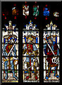 SP1501 : Stained glass window, N.IV, St Mary's church, Fairford by J.Hannan-Briggs