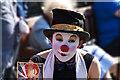NT2573 : Street entertainer by William Starkey