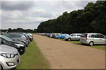 SK4663 : Car Park at Hardwick Hall by Jeff Buck