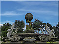 SE7169 : Fountain, Castle Howard, Yorkshire by Christine Matthews