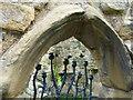 NU1813 : Ornamental gateway by David Clark