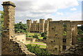 SK4663 : Hardwick Hall from the Old Hall by Jeff Buck