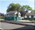 TR0724 : Signal Box, New Romney by Paul Gillett