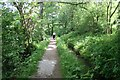 SJ9170 : Footpath alongside Sutton Reservoir by Dave Dunford