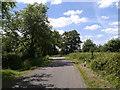 SU0685 : Lane heading west near Flaxlands by Rob Purvis