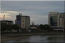 TQ3078 : View of towerblocks near Vauxhall from Lambeth Bridge by Robert Lamb
