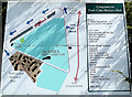 TL8527 : Earls Colne Business Park Map by Adrian Cable