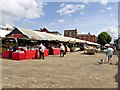 SK3871 : Chesterfield Open Air Market by David Dixon