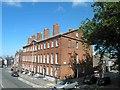 SJ3589 : Pilgrim Street or is it Mornington Terrace? by Steve  Fareham